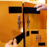 MIDWEC 3 Packs Child Baby Proof Door Lock Strap Adhesive- Simple Easy to Install NO tools needed -Keyless Child Safety Locks