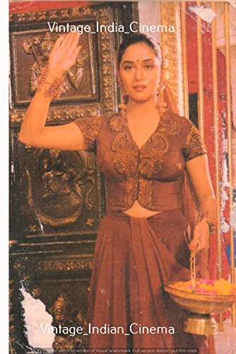 Madhuri Dixit Photo,Quality digital print of a vintage photograph Vintage Rare Photograph Multicolor Indian Bollywood Actors