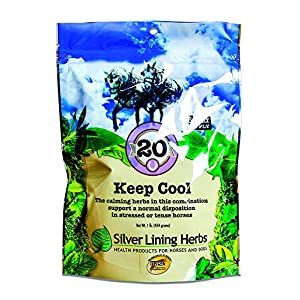 Keep Cool | Supports Calming Anxious and Excitable Horses | | Helps Maintain Contentment and Relieve Stress || 1 Pound Bag | Keep Cool Equine Calmer is Made In USA by Silver Lining Herbs 48