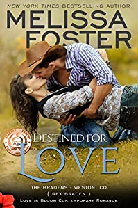 Destined For Love: Rex Braden by Melissa Foster ebook deal