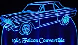 ValleyDesignsND 1965 Falcon Convertible Acrylic Lighted Edge Lit 13
