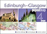 Edinburgh and Glasgow PopOut Map (PopOut Maps)