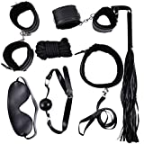 TeeSher Whips Handcuffs Collar Blindfold package