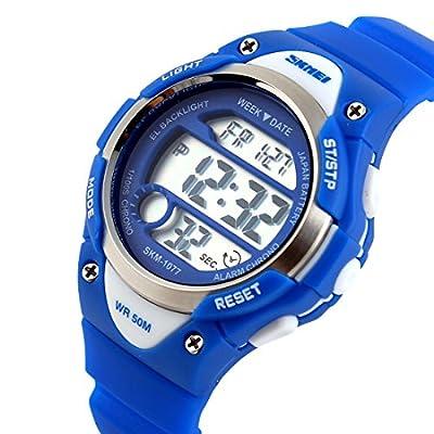 USWAT-Children-Watch-Outdoor-Sports-Kids-Boy-Girls-LED-Digital-Alarm-Waterproof-Wristwatches-Dress-Watches-Blue