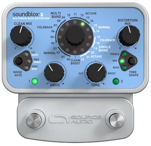Source Audio SA221 Soundblox 2 Multiwave Bass Distortion by Source Audio