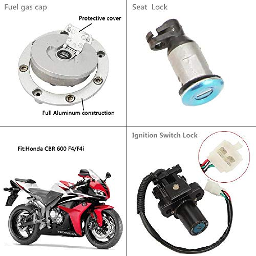 OXMART Motorcycle Disc Lock Kits for CBR600 F4 99-00 CBR600 F4I 01-02 by OXMART (Image #4)