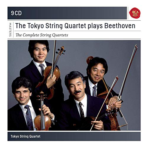 The Tokyo String Quartet plays Beethoven : The Complete String Quartets (Beethoven String Quartets Best Recordings)