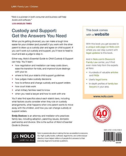 Nolo's Essential Guide to Child Custody and Support (Nolo's Essential Guide to Child Custody & Support)