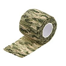 SODIAL(R) Outdoor Cycling Camo Wrap Gun Hunting Camouflage Stealth Tape Camo 2