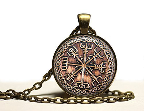 viking-jewelry-vegvisir-rune-necklace-occult-pendant