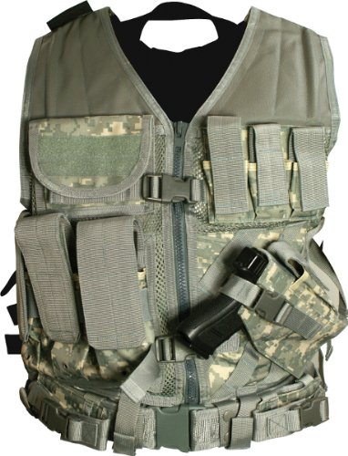 NcStar Airsoft CTV2916D Digital Camo Tactical Vest