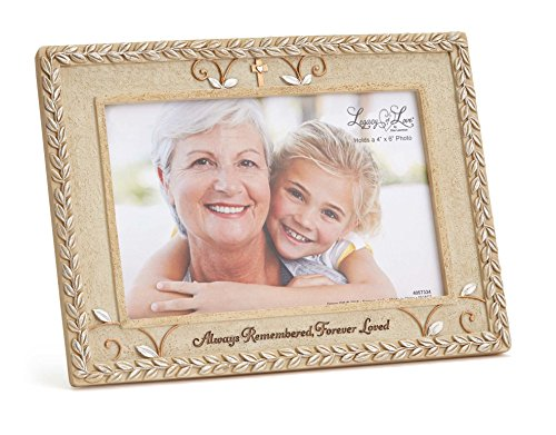 Enesco Legacy of Love by Gregg Gift Bereavement Stone Resin Photo Frame, 4x6