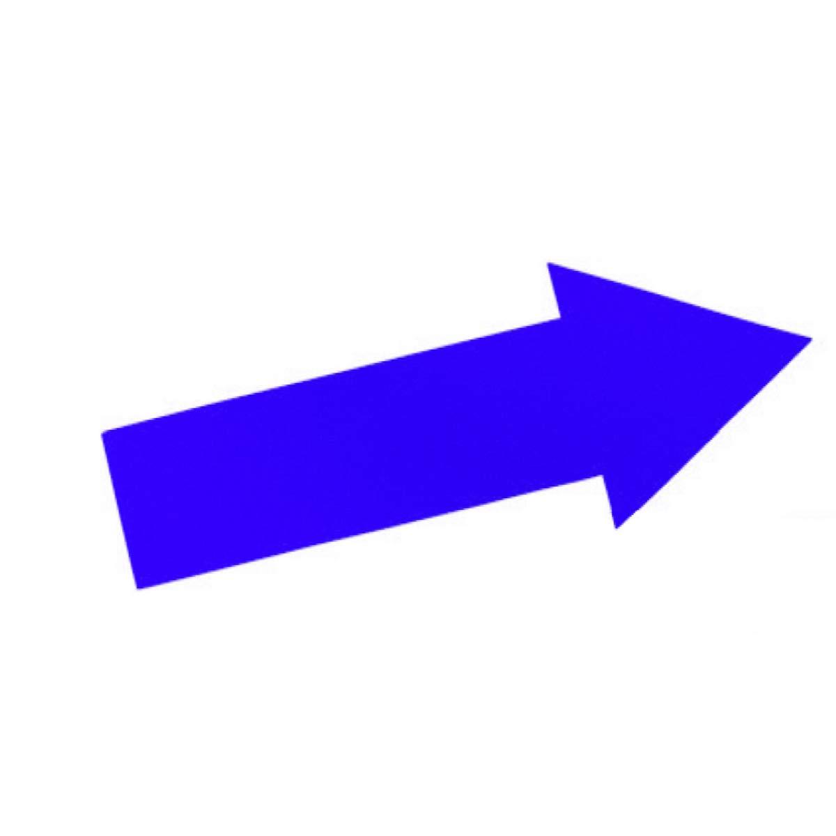 Longueur 36 cm Visiodirect Fl/èche pour Le marquage Coloris Bleu