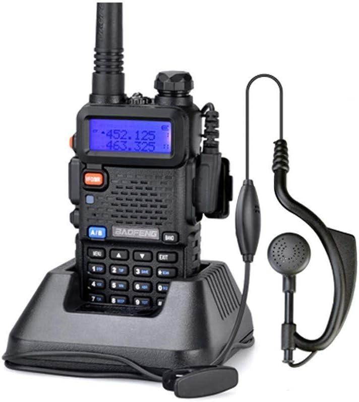 2 Pack UV-5R Two-Way Radio Dual Band UHF//VHF Ham 136-174//400-520MHz Transceiver