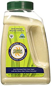 Florida Crystals Natural Cane Sugar, 48 Ounce (Pack of 3)
