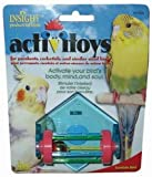 JW Pet Company Activitoys Tumble Bell Bird Toy, My Pet Supplies