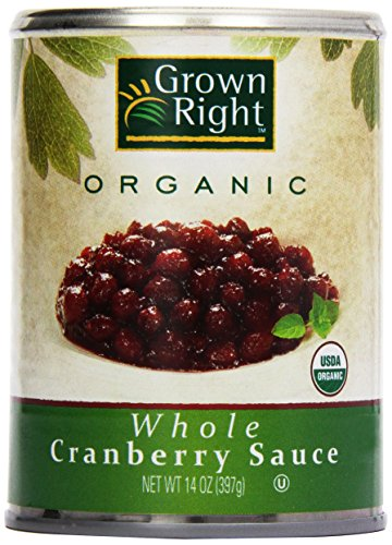 Grown Right Organic Whole Cranberry Sauce, 14 oz by Grown Right