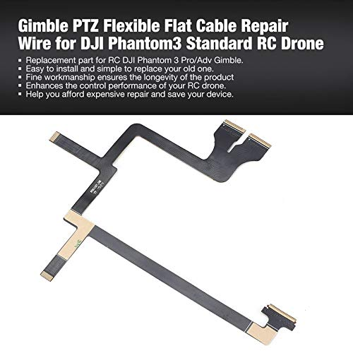 Gimble PTZ Flexible Flat Cable Repair Wire for Phantom3 Pro/Adv RC Drone by Wikiwand (Image #2)