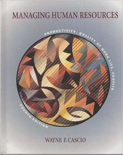 Managing Human Resources 9th Edition Cascio Epub