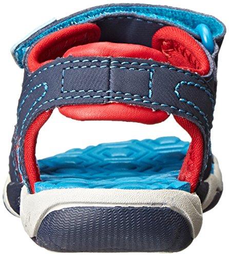Timberland Adventure Seeker 2 Strap - Sandalias para hombre Blau (Navy/Blue/Red)