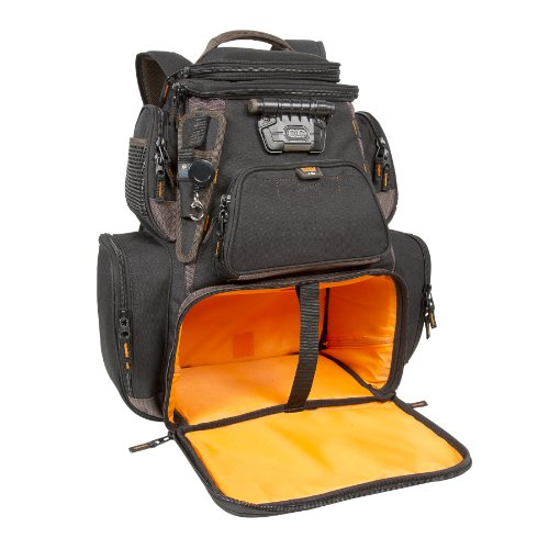 Wild River by CLC Custom Leathercraft WT3605 Tackle Tek Nomad XP Lighted Backpack with USB Charging System and Two PT3600 Trays Included