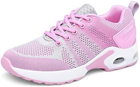 Luz de zapatillas de deporte zapatillas de mujer Malla transpirable Zapatos Muelles exteriores atlética Sneakers Mujer Footing ,pink,UE34: Amazon.es: Deportes y aire libre
