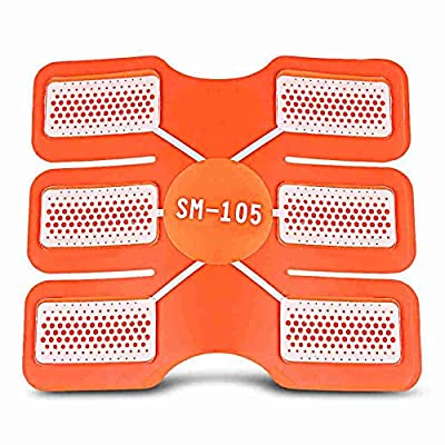 FUNOC 6pcs Arm Abdomen Trainer Pad Fitness Gear Accessories Gel Sheet for Muscle Sculpting