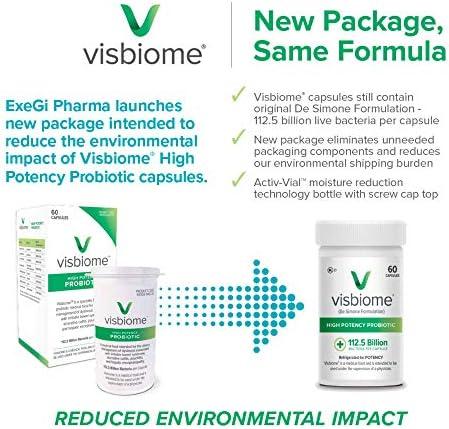 Visbiome - High Potency Probiotics, 112.5 Billion CFU Live Bacteria, 60 Capsules 8