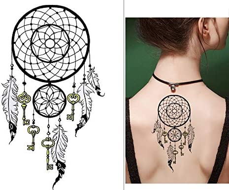 Atrapasueños Tattoo Arm Tattoo Fake Tattoo syb094: Amazon.es: Belleza