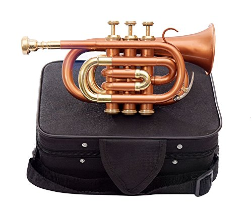 Shreyas Pocket Trumpet, Bb, Bronze by SHREYAS