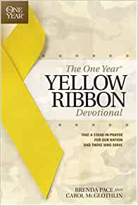 The One Year Yellow Ribbon Devotional Take A Stand In border=