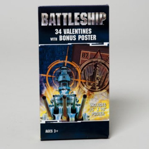 DDI Battleship Valentines with Bonus Poster from DDI