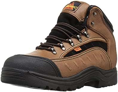 Thorogood I-Met Technology Metatarsal Guard Boot, Dark Brown, 7 M US