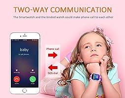 Smartwatch Montre Enfants GPS Tracker 1.44 inches Localisateur GPS ...