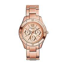 Fossil Women's Stella-ES3815 Rose Gold Watch