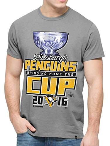 Pittsburgh Penguins 47 Brand 2016 Stanley Cup Champions Parade T-Shirt-medium