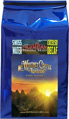 Mt. Whitney, 5 Lb, Swiss Water Process, Decaf Columbia Su...