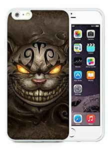 Newest iPhone 6 Plus/iPhone 6S Plus TPU Case ,Unique And Fashion Designed Case With Alice Madness Returns Cheshire Cat PS4 White iPhone 6 Plus/iPhone 6S Plus Skin Cover High Quality Phone Case