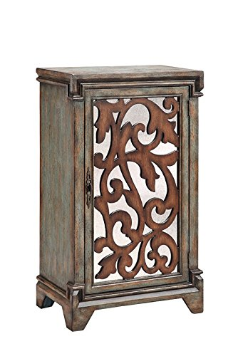 Stein World 13336 Midi Blue Wine Cabinet - Stein World Wine Cabinet