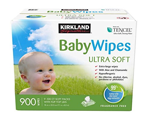 Kirkland Signature Baby Wipes 900ct Youniversal