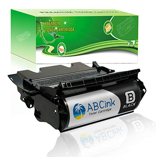 Laser Printer T634n - ABCink T634 High Yield Toner Cartridge Compatible for Lexmark Optra T634 T634dtn T634dtnf T634n T634tn Printers 1 Pack(21,000 Page-Yield, Black)