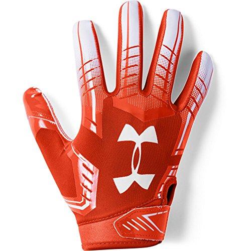 Under Armour boys F6 Youth Football Gloves Dark
