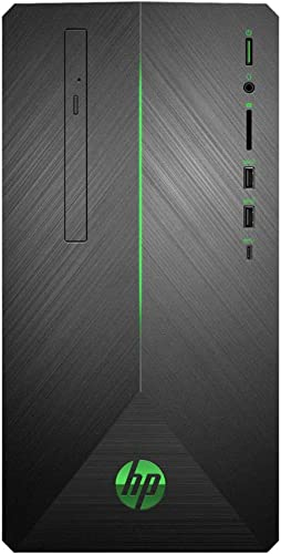 2020 Newest HP Pavilion 690 Gaming Desktop (AMD 8-Core Ryzen 7 2700 3.2GHz up to 4.1 GHz, 32GB DDR4 RAM, 1TB SSD (Boot) + 2TB HDD, AMD Radeon RX 580 4GB, WiFi, Bluetooth, DVD, Windows 10 Home)