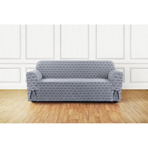Patterned Slipcovers (SureFit Ikat Tile Sofa Slipcover)