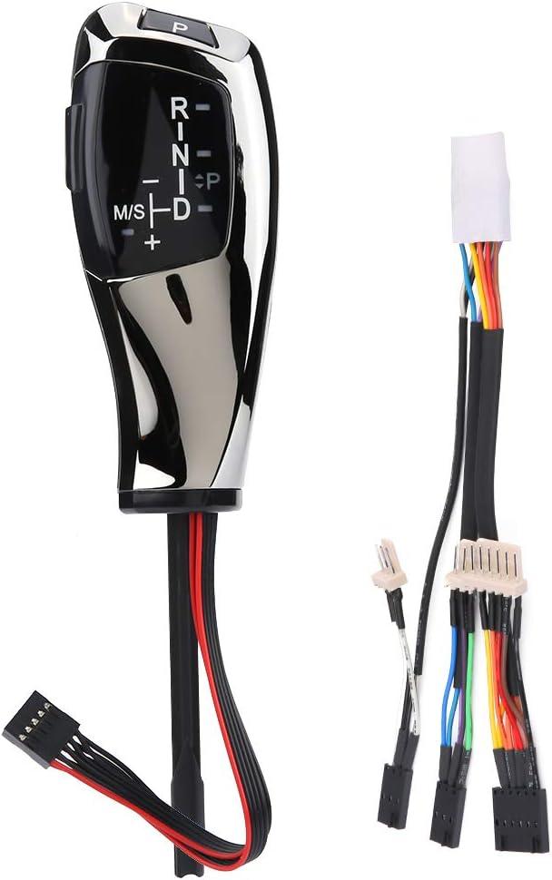 Ebtools Lhd Automatik Led Schaltknauf Schalthebel Für E46 E60 E61 E63 E64 Swarchz Auto