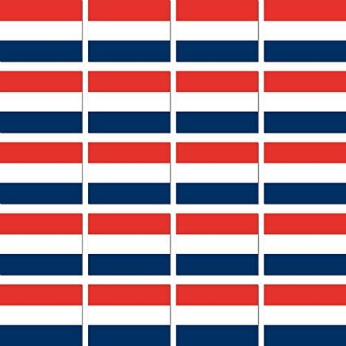 Greenit 20 Stück 2 8cm Niederlande Holland Flagge Fahne Rc Modellbau Mini Aufkleber Sticker Modellbauaufkleber Auto