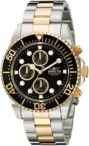 Invicta Men's 1772 Pro Diver Collection Chronograph Watch ()