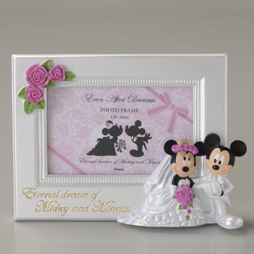 Wedding ミッキー&ミニー フォトフレーム ヨコ SD-2022 891024 B00B4EQSEI