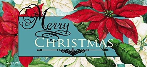 Price comparison product image Evergreen Enterprises 65184 Switch Mat - Merry Christmas Poinsettia