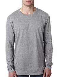 Next Level Apparel mens Next Level Premium Fitted Long-Sleeve Crew(N3601)